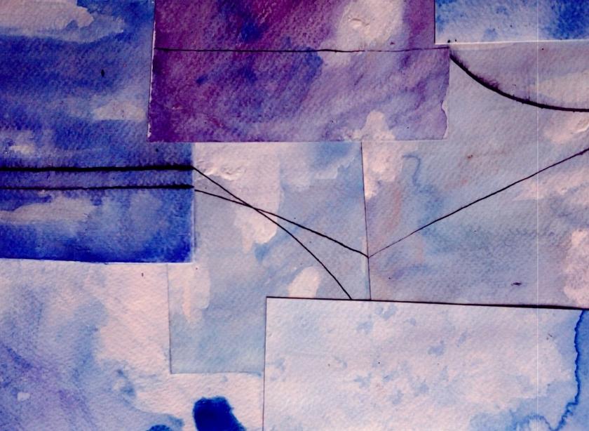 collage square sky city
