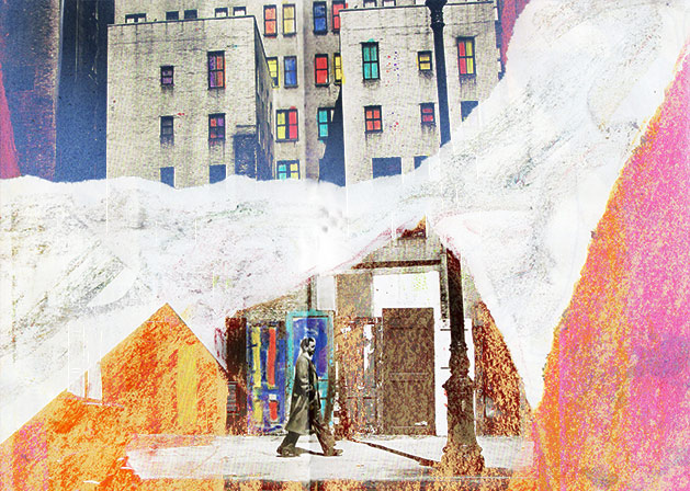 city walker collage
