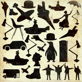 British Icons Pattern