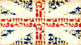 Union Jack Made up of British icons