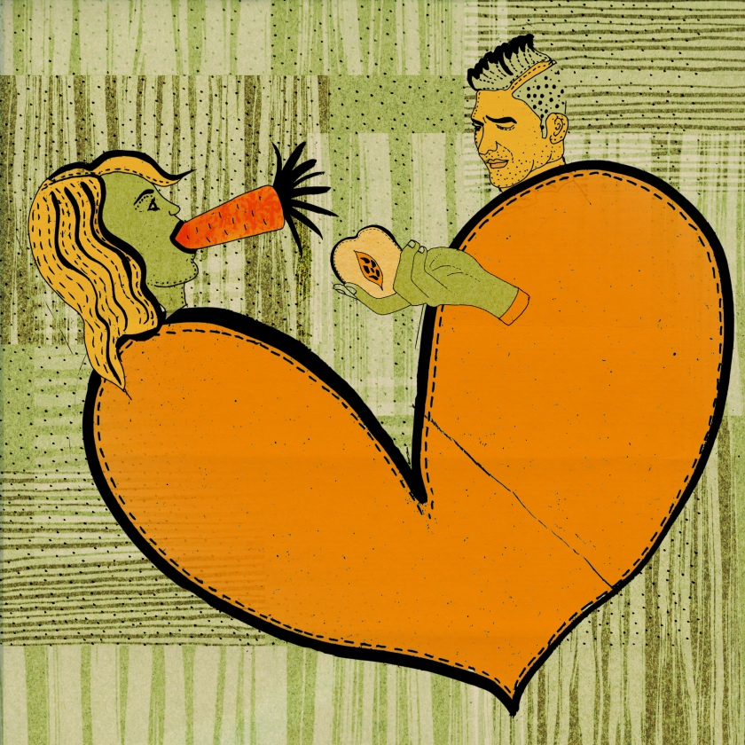 illustration male female pleasure