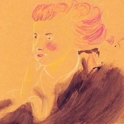 pastel hand-drawn illustration